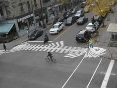 Street art - Street artist - Roadsworth - Fish