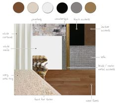 HvH Interiors: Our New Berlin Apartment - Colour & Materials Board