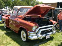 Old gmc trucks | classic chevy truck parts for 1955 to 1959 trucks gmc truck   This '56, the Color more equal to Layne's and Wheels as well!! Right on!!!