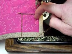 How to Mitre corners on Quilt Binding — best video I've found so far on how to do this..
