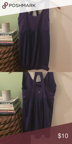 Purple workout top Old navy active, lululemon for exposure. Side tie detail lululemon athletica Tops Tank Tops