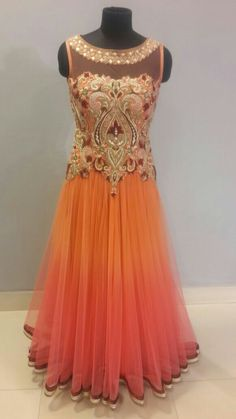 #Indian#gown#beautiful#emerald#collection