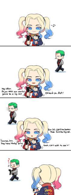 baby Joker & baby Harley ♥