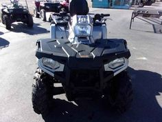 New 2017 Polaris Sportsman Touring 570 SP Silver Pearl ATVs For Sale in Oregon.