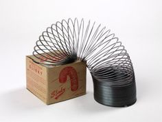 Slinky. I remember breaking about 10 of these because my brother and I would overstretch them, across the length of the room (or longer) and then one would let go and it would snap back. Misshaped all of them eventually. hah
