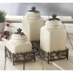Beautiful Kitchen Canisters for