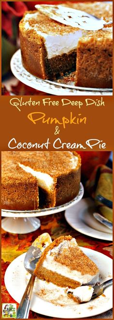 Not only is this pumpkin dessert recipe gluten free and dairy free, but it's…