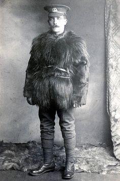 Australische soldaat in 1915.