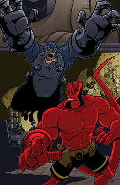 Hellboy by natelovett on deviantART