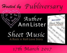 Publiversary Sheet Music by Author Ann Lister  Sheet Music A Rock n Roll Love Story is what started Author Ann Listers obsession with her sexy rockers.  Today we celebrate eight years since Sheet Music was published. In 2009 Ann introduced readers to the infamous guitar God Michael Wade.  Read FREE with KindleUnlimited  Universal Link http://ift.tt/26OdMrQ  Amazon UK http://amzn.to/2fz7rw4  Book Description  Annie Logan and her band White Rush have been waiting years for their big break…