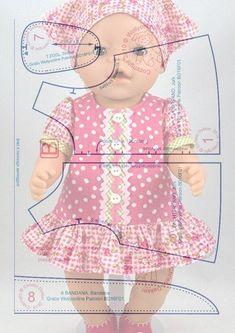 Альбом № 6 Выкройки для кукол ..