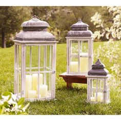 Pottery Barn Park Hill Windowpane Lantern ($49) ❤ liked on Polyvore featuring home, home decor, candles & candleholders, square votive candles, pottery barn, pottery barn lantern, square lantern and square candles