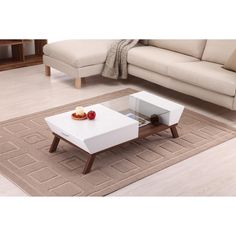 Furniture of America Kress Glass Insert Coffee Table - Overstock™ Shopping - Great Deals on Furniture of America Coffee, Sofa & End Tables