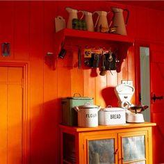 Orange chaud-show