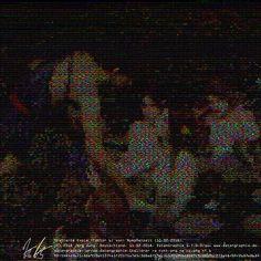 datengraphie / datagrafy | Galerie / Gallery | detail: die welt ist schlimm: Nymphenzeit.