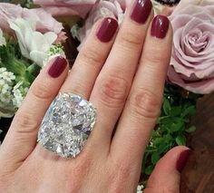 Huge 925 Silver White Sapphire Birthstone Ring Wedding Proposed Women Jewelry Y Diamond Jewelry, Silver Jewelry, Fine Jewelry, Women Jewelry, Huge Diamond Rings, Silver Rings, Silver Bracelets, Gemstone Jewelry, Jewelry Rings