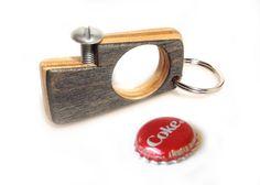 Mini Bottle opener made from skateboard decks