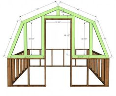 Ana White | Build a Barn Greenhouse | Free and Easy DIY Project and Furniture Plans by AislingH