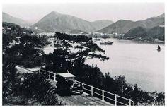 四十年代.雞籠灣望香港仔 圖中私家車類型自五十年代經已少見