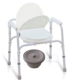 Toilet Frames and Commodes: Medical Toilet Chair Handicap Adult ...