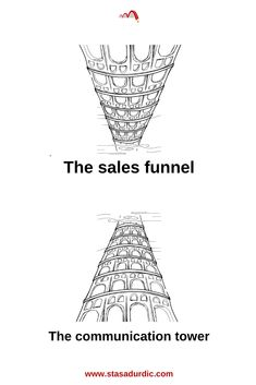 Why #sales and #communication should speak the same language? Discover what a #communicationfunnel is and start building the Tower of Babel. #salesfunnel #digitalmarketing #marketing