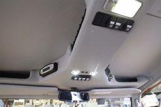 Department of the Interior roof console for Hema's LandCruiser 79 Dual Cab mapping and expedition vehicle. Custom Car Interior, Van Interior, Truck Interior, Landcruiser Ute, Landcruiser 79 Series, Truck Mods, Car Mods, Sidekick Suzuki, Fj Cruiser Interior