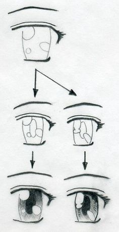 Marvelous Learn To Draw Manga Ideas. Exquisite Learn To Draw Manga Ideas. Cartoon Eyes, Cartoon Drawings, Easy Drawings, Drawings Of Eyes, Horse Drawings, Drawing Techniques, Drawing Tips, Drawing Tutorials, Drawing Ideas