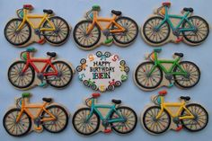Bicycle cookies for missionary