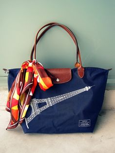 Longchamp Eiffel Tower..maybe get another while in Paris?  #hmmm
