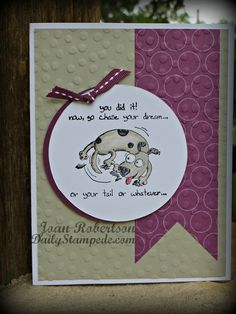 Stampin' Up! Giggle Greetings stamp set