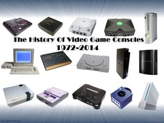 Here is my latest videos, The History Of Video Games Console 1972 - 2014. Is a video that's been long in the making, and part 2 of my old video History of vi...