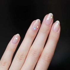 Want to know how to do gel nails at home? Learn the fundamentals with our DIY tutorial that will guide you step by step to professional salon quality nails. Nail Design Glitter, Nail Design Spring, Nails Design, Natural Looking Nails, Natural Nails, Gel Nails At Home, Diy Nails, Clear Gel Nails, Short Nail Designs