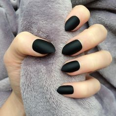 Black+Matte+Short+Stiletto, £14.99