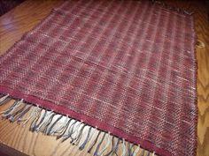 gorgeous handmade rag rug
