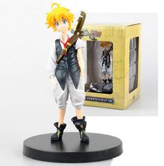 This 14cm recreation of the brave captain of The Seven Deadly Sins comes with his broken Dragon Handle sword and an articulated figure stand. This Meliodas action figure is a hot favorite and a great