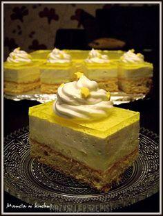 Sweet Desserts, Sweet Recipes, Cake Recipes, Polish Desserts, Polish Recipes, First Communion Cakes, Cake Bars, Food Cakes, Homemade Cakes