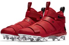 Get The Nike LeBron Zoom Soldier 11 Cleat Ohio State Now