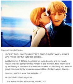 LOL Anna and Kristoff