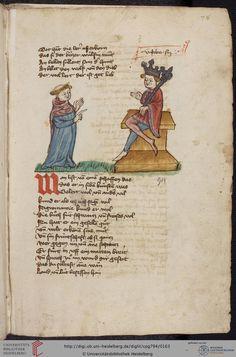 Cod. Pal. germ. 794: [Ulrich] Boner: Edelstein (Schwaben (Oberrhein?), um 1410/1420), Fol 78r