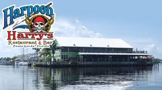 Harpoon Harry's in Fishermans Village, Punta Gorda. A great place on the water.