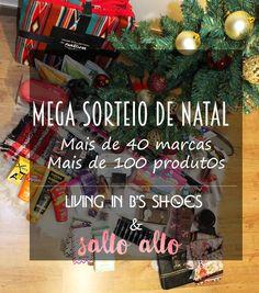 Juntei-me com o blog Salto Alto, da Cristiana Rodrigues para vos oferecer dois mega cabazes de Natal. Saibam como participar, aqui!