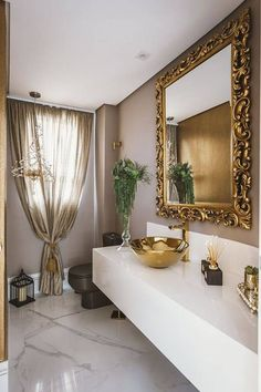 revestimento para banheiro tinta neutra lavabo daniela gradella 145004