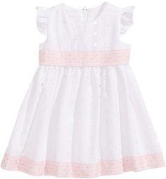 e26d43c13 Bonnie Baby Flutter-Sleeve Eyelet Dress, Baby Girls & Reviews - Dresses -  Kids - Macy's