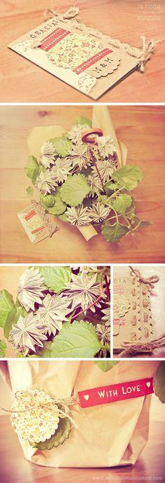 crafty for wedding invitations or thank you card!