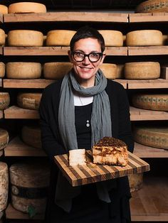 Valerie Henbest from The Smelly Cheese Shop - one passionate cheese-lovin' lady! #Adelaide