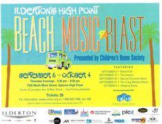 Beach Music Blast in High Point, North Carolina!