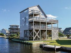 Pamlico+Sails:+5+BR+/+5.1+BA+five+bedroom+house+in+Avon,+Sleeps+10+++Vacation Rental in Cape Hatteras from @homeaway! #vacation #rental #travel #homeaway