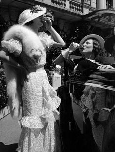English women knock back the drinks (1934)