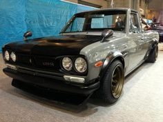 1989 Nissan Sanitora with KPGC10 GTR Face  RS Watanabe Type R