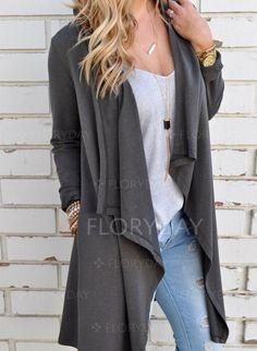 Perfect San Diego coat Coats & Jackets - $40.99 - Cotton & Cotton Blend Black Dark Gray Long Long Sleeve Other Coats & Jackets (1715116829)